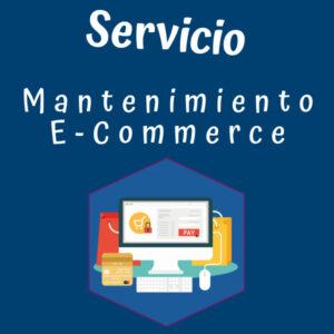 Servicio Mantenimiento E-Commerce Izabra