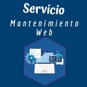 Servicio Mantenimiento Web Izabra
